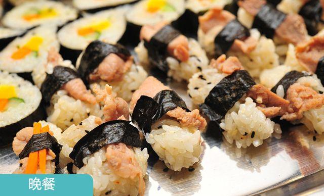 单人自助晚餐,无需预约。打造美味的韩国风味儿