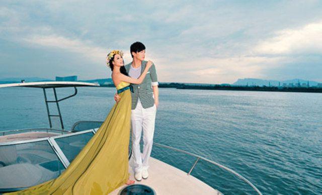 婚纱摄影套系,潮流App客户端相册,游艇主题、八大景点等
