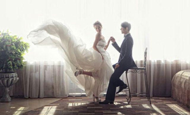 永恒婚纱摄影套系,记录这一刻永久的美丽