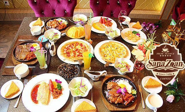 5人餐,美味无限,尽情欢享