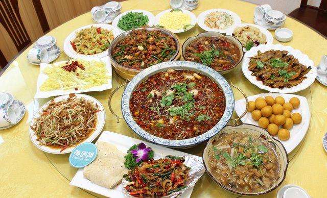 8人餐,美味中餐,亲朋共享