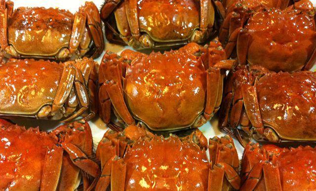 阳澄湖美乐篮大闸蟹1盒,新鲜美味