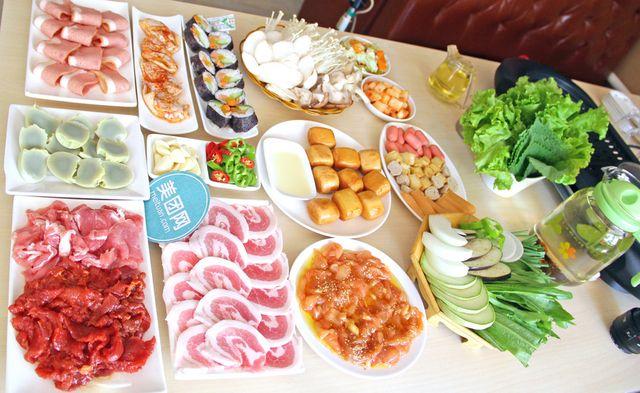 4-6人餐,提供免费WiFi,大麦茶免费畅饮,赠送爽口小菜