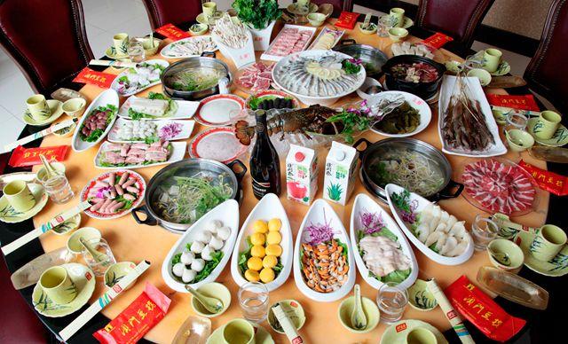12-14人餐,美味尽在分享