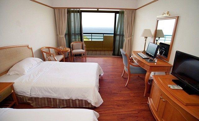 海景双人房住宿1晚,使用多张美团券可连续入住,免费WiFi