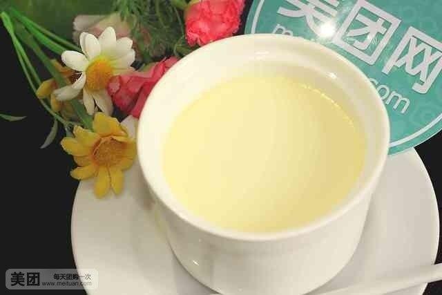 【养生园甜品店】单人炸鲜奶+鲜奶炖蛋,提供免