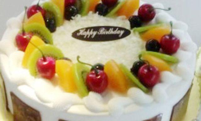 8英寸鲜奶水果蛋糕1个,享受甜蜜滋味