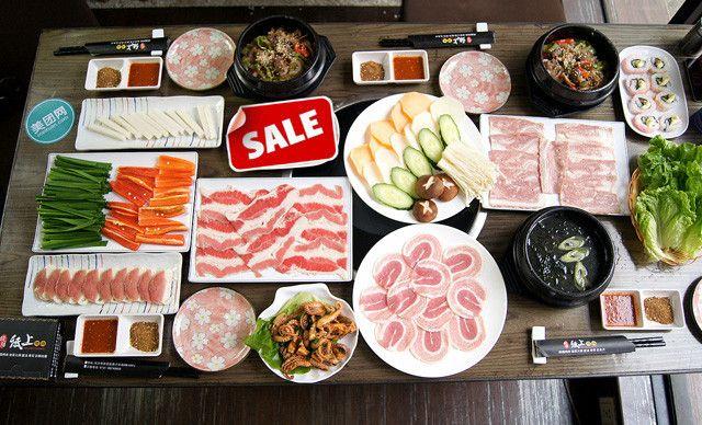 :长沙今日团购:【龙膳纸上烤肉】4人套餐,免费提供WiFi