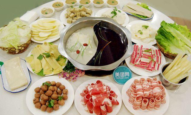 6人餐,美味火锅,快乐分享,清真饭店,外菜莫入