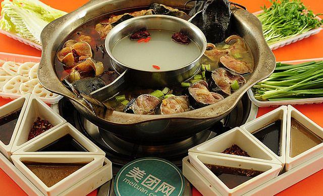 双人梭边鱼火锅套餐,美味尽享等您品尝