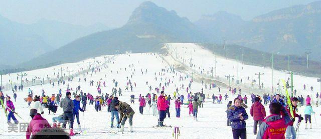 温泉 石家庄/石家庄西柏坡滑雪门票平山西柏坡温泉滑雪场门票多少钱西柏坡...