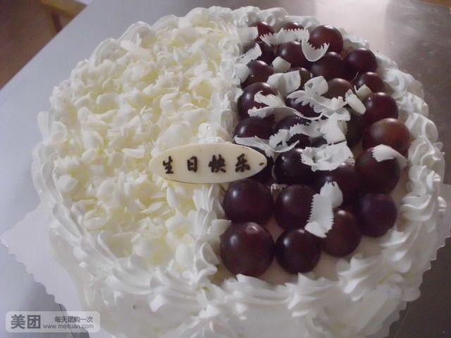 白森林蛋糕6寸