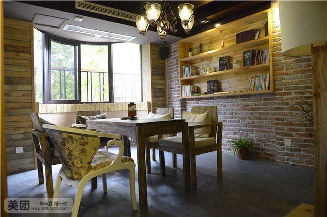 吐司的大型欧式简约复古风格多功能商务咖啡厅