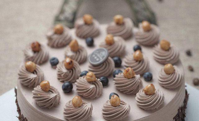 【24店通用】小丽都面包房蛋糕2选1,约8英寸,圆形