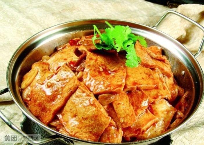 干锅千叶豆腐-炸豆腐圆为什么会粘锅 沙锅豆腐怎么做