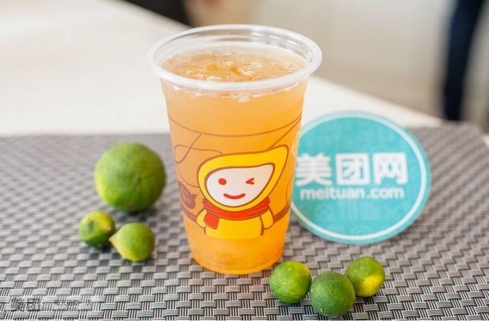 鲜青橘柠檬汁