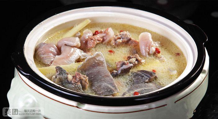 水鱼鸡煲(中煲)