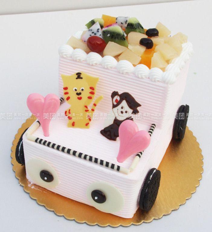 卡通车蛋糕