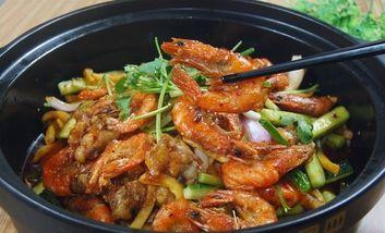 【郑州】火焰虾煲-美团