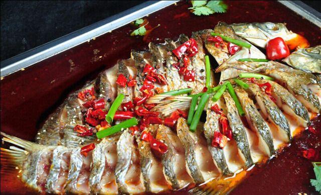 蜀客d烤鱼庄-美团