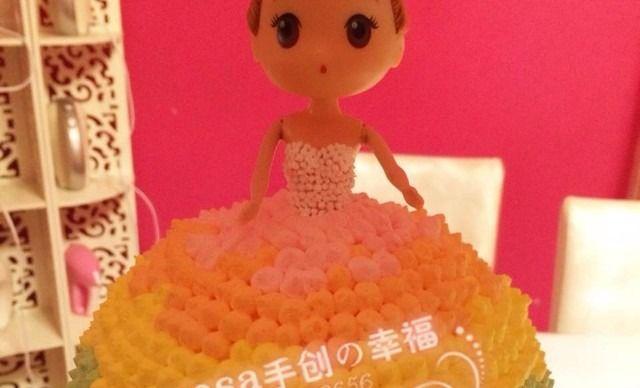 梦想拥有的芭比娃娃蛋糕,如果你还未曾拥有,yosa将为你实现可爱公主梦