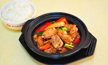 【蚌埠】泉聚阁黄焖鸡米饭-美团