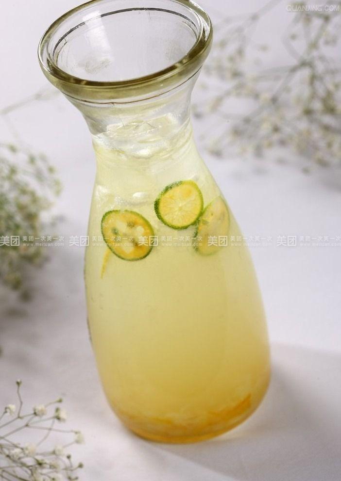 柠檬香桔茶