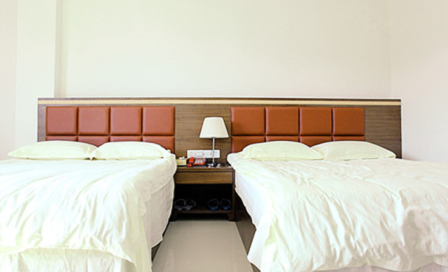 【海鲜街度假屋】标准双人房钟点房3小时,可连续入住,免费WiFi