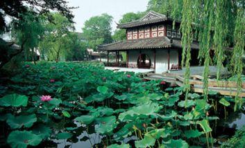 【杭州出发】狮子林、周庄、三国城3日跟团游*苏州周庄无锡三日游-美团