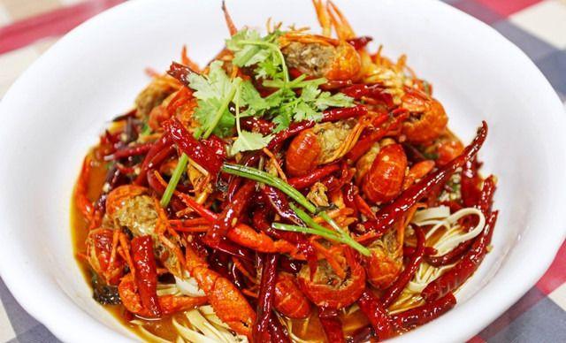 :长沙今日钱柜娱乐官网:【吴记口味馆】口味虾1份,提供免费WiFi