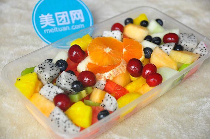 美团水果海报素材