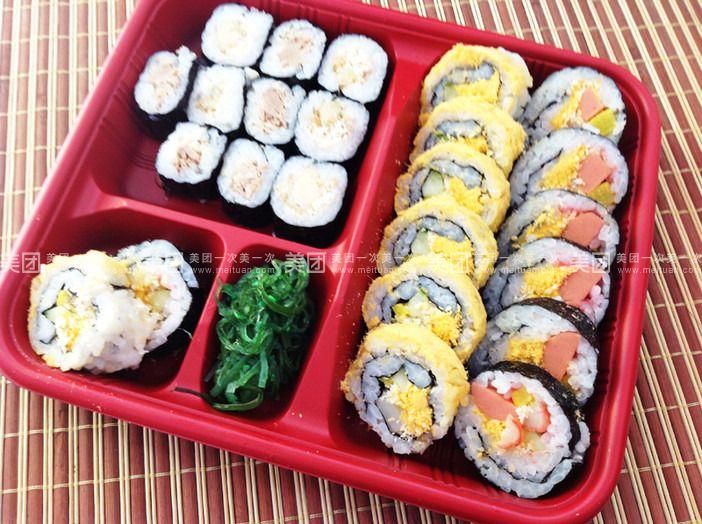 手绘豪华寿司套餐