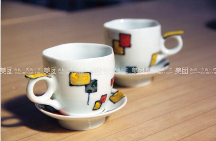 手工可爱陶艺杯子