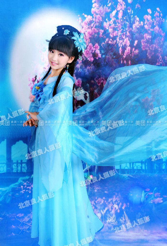 【北京良人婚纱摄影团购】良人婚纱摄影儿童古装写真