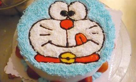 8寸自制DIY手工蛋糕1个