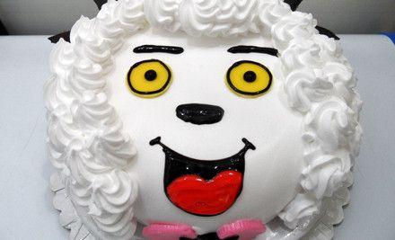 美食团购 蛋糕 亭湖区 黄海路 布朗尼蛋糕坊   创意卡通造型蛋糕(沸羊