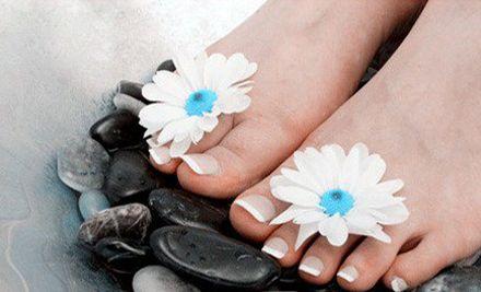 脚部护理美甲套餐,女士专享