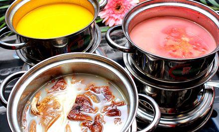 单人晚餐自助1位,以独创自助形式的豆捞,让您吃得好,吃得饱