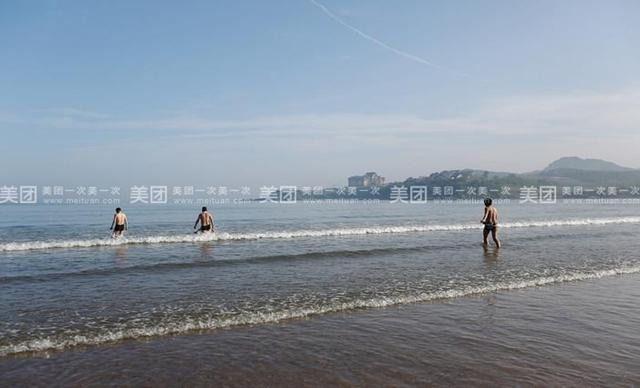 广鹿岛蓝海湾度假村:大连李官度假村:广鹿岛月亮湾