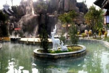 【其它】白鹿温泉加勒比水上乐园+白鹿温泉儿童票-美团