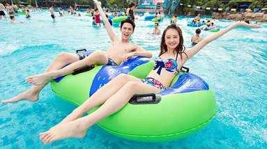 【焦作出发】拉维斯梦幻水世界纯玩1日跟团游*大型刺激的水上乐园-美团