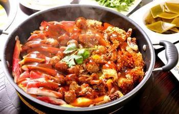 【乌苏】黄老蟹三汁焖锅·清真-美团