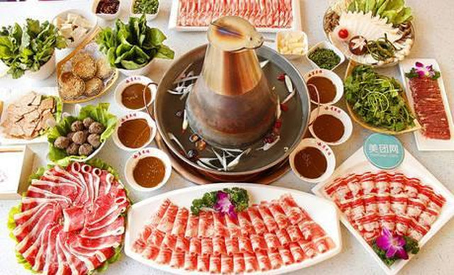美团网:长沙今日自助餐团购:【鲜满楼老北京涮羊肉】自助午餐,提供免费WiFi