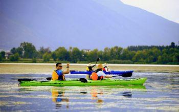 【大理出发】洱海纯玩1日跟团游*大理洱海皮划艇赏日落-美团