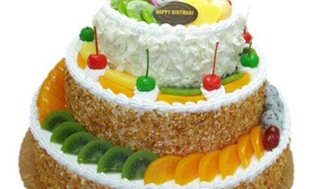 甜蜜物语三层蛋糕,仅售427元!价值698元的三层蛋糕1个,约36英寸,圆形/心形