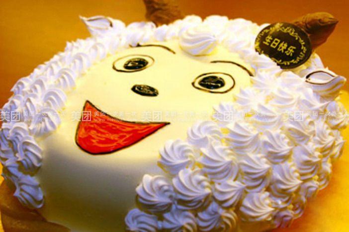 樱桃小丸子可爱蛋糕