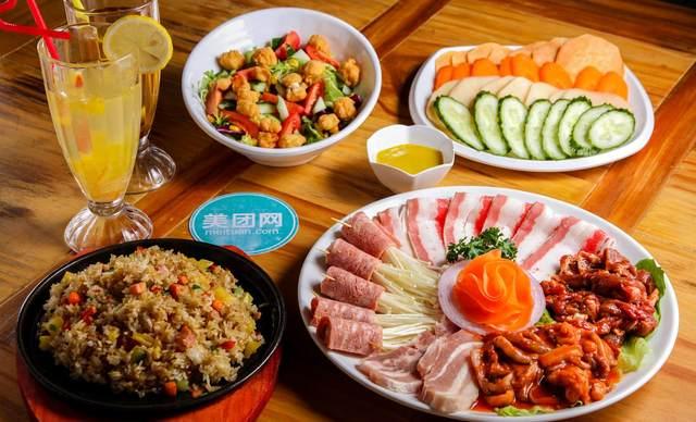 :长沙今日团购:【尚槿格调韩式料理】4人套餐B,提供免费WiFi