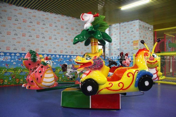 几千平米的纯儿童室内项目超大场地