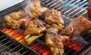 【西安】烤猪蹄-美团