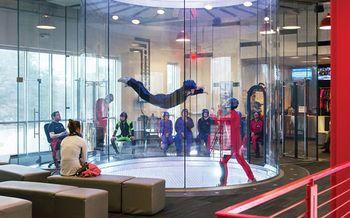 【渝北区】重庆际华园极限运动中心室内跳伞成人票-美团